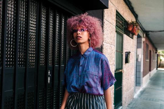 Cool urban woman