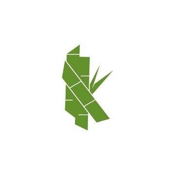 Sugarcane logo vector template