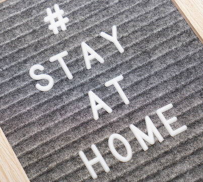 #Stayathome Advice for covid