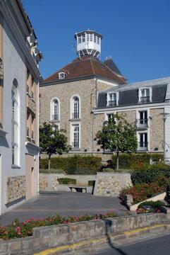 Ville de Villiers-sur-Marne, maison au Belvédère (musée municipal Emile Jean fondé en 1973), département du Val-de-Marne, France