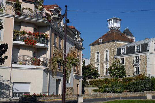 Ville de Villiers-sur-Marne, maison au Belvédère (musée municipal Emile Jean fondé en 1973), habitation en centre ville, département du Val-de-Marne, France