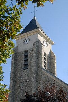 Ville de Villiers-sur-Marne, église Saint-Jacques-Saint-Christophe, département du Val-de-Marne, France