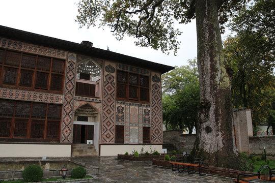 Khan Palace from Sheki, Azerbaijan