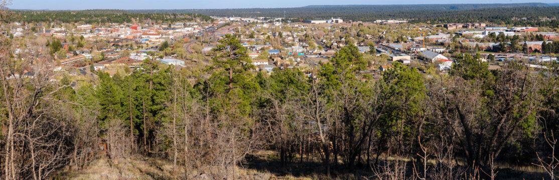Panaramic Overlook of Flagstaff, AZ