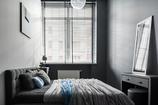 Small and stylish bedroom