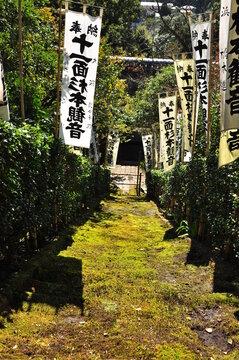 苔寺の階段
