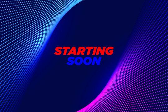 Twitch Starting Screen - Twitch stream element -Twitch Overlays