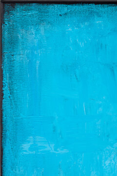 Blue grunge colored texture background.
