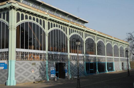 Ville de Nogent-sur-Marne,  le Pavillon Baltard, rescapé des 12 pavillons des Halles de Paris, Monument Historique en 1982, département du Val de Marne, France