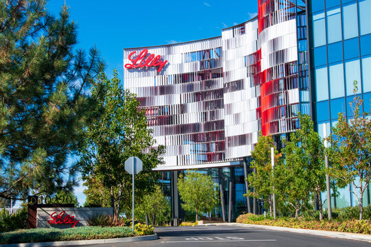 Lilly Biotechnology Center campus of an American pharmaceutical company Eli Lilly and Company - San Diego, California, USA - 2020
