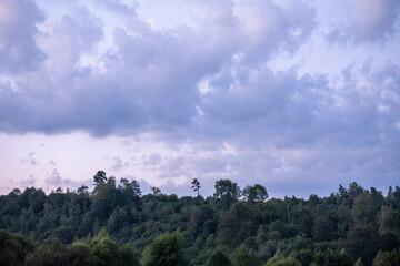 Fototapeta bieszczady przepiękny widok góry, koniec świata, natura raj na ziemi