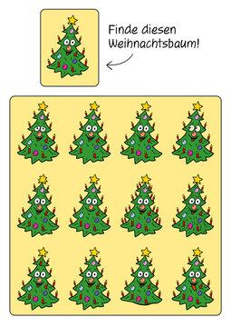 Rätselbild zu Weihnachten