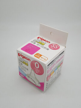Pigeon softouch anti colic nipple for baby bottle box in Manila, Philippines