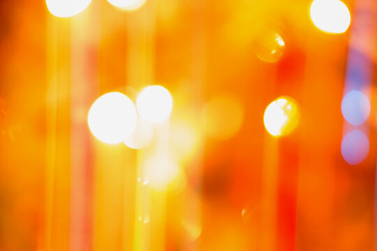 Abstract background of bright colored lights