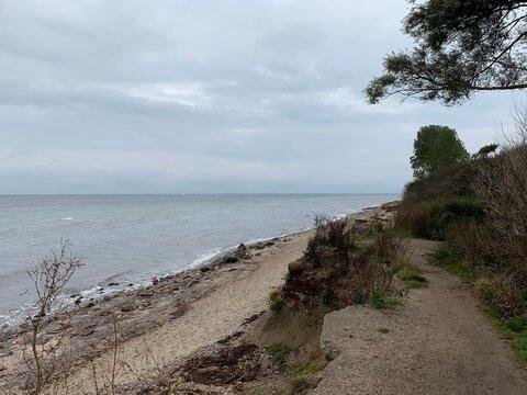 Ostseesteilküste bei Rerik