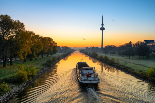 Mannheim am Morgen