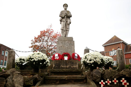 Remembrance Day at the Heston War Memorial