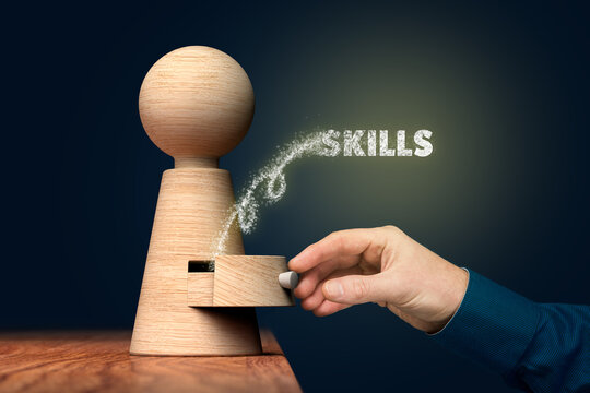 Discover your skills concept