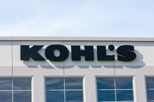 Kohl's logo at Kohl's Digital Center in Silicon Valley . Kohl's is an American department store retail chain, operated by Kohl's Corporation - Milpitas, California, USA - 2020