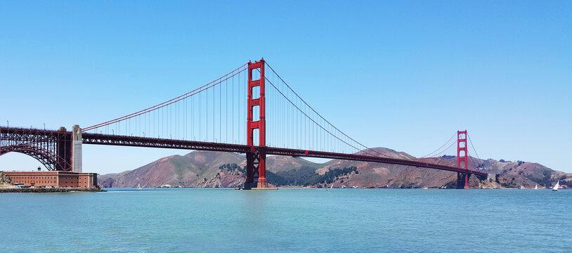 golden gate bridge zoom background