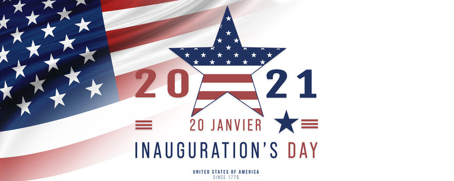 USA, Inauguration Day 20 January 2021- Joe Biden become the 46Th President of United States