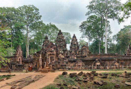 Banteay Srei Temple in Siem Reap, Cambodia