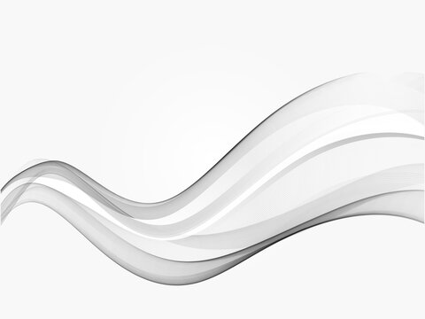 Modern speed futuristic swoosh wave layout abstract grey gradient line element background template.