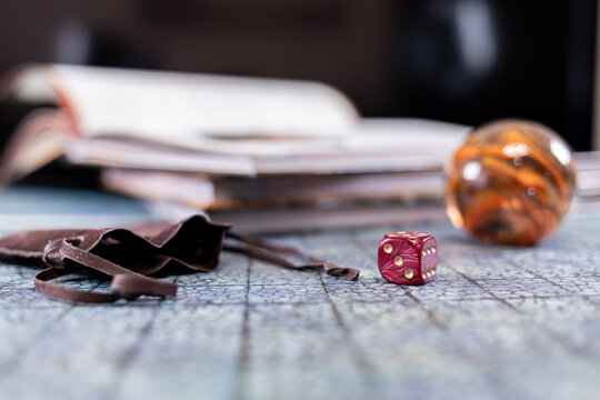 Game dice - board games and role play games