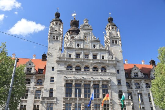 Leipzig Town Hall, Germany