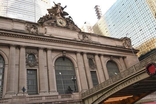 Der Grand Central Terminal in das National Register of Historic Places eingetragen und im Dezember 1976 zum National Historic Landmark erklärt. New York _ Manhattan, 30.11.2019