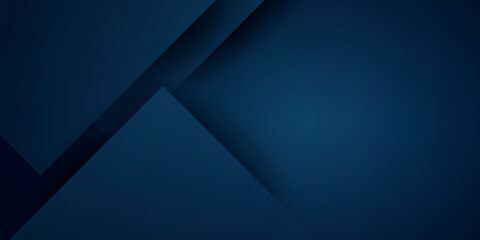 Obraz Abstract background dark blue with modern corporate concept and square element shapes - fototapety do salonu