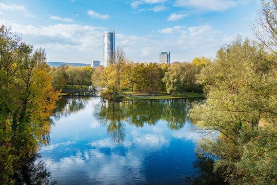 Von der Rheinaue nach Bonn-Zentrum