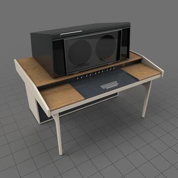 Retro video terminal