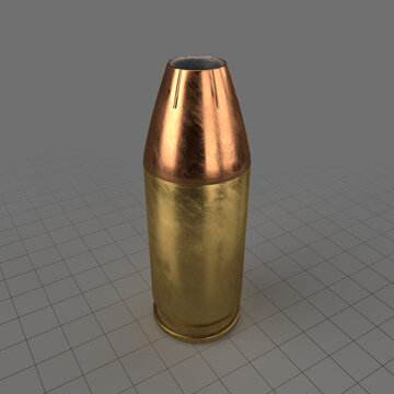 Hollow point 9mm bullet