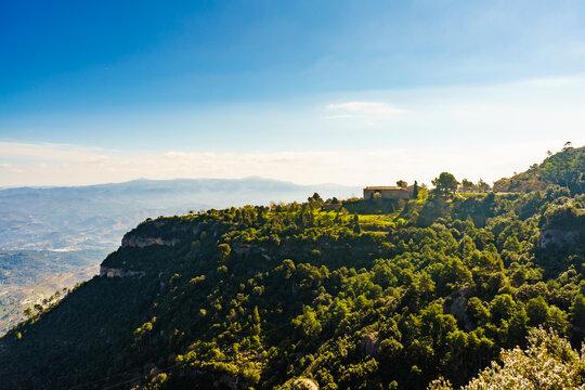 Monastery Santa Cecília de Montserrat, Spain