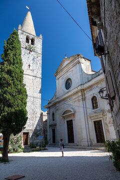 Kirche von Bale-Valle in Kroatien