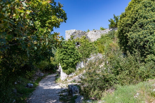 Ruinenstadt Dvigrad in Kroatien