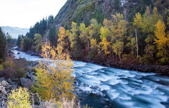 Tumwater Canyon Long Exposure