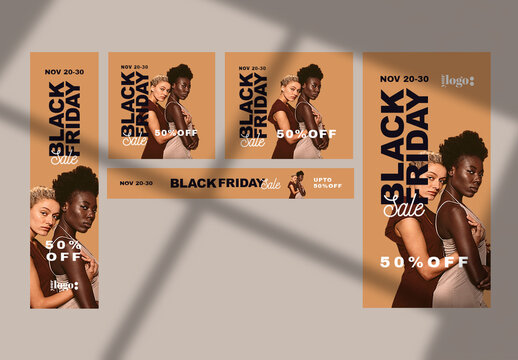 Black Friday Web Banners Layouts