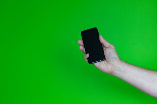 Ręka ze smartfonem #4