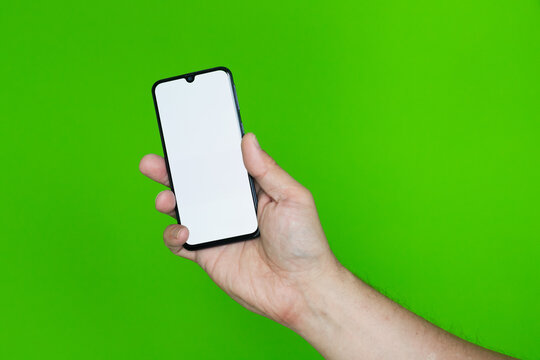 Ręka ze smartfonem #3
