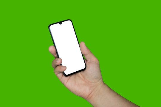 Ręka ze smartfonem #2