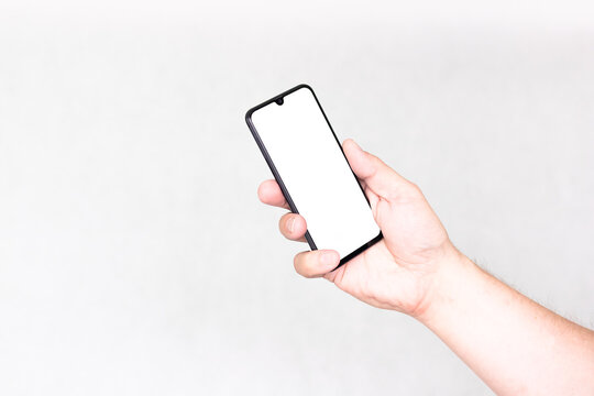 Ręka ze smartfonem #1