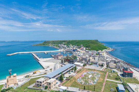 Hujing Island in Magong City, Penghu, Taiwan