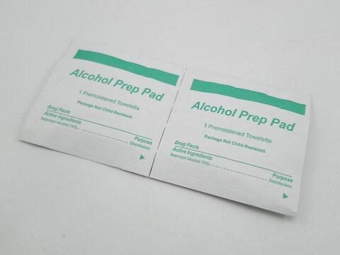 Alcohol prep pad in Manila, Philippines