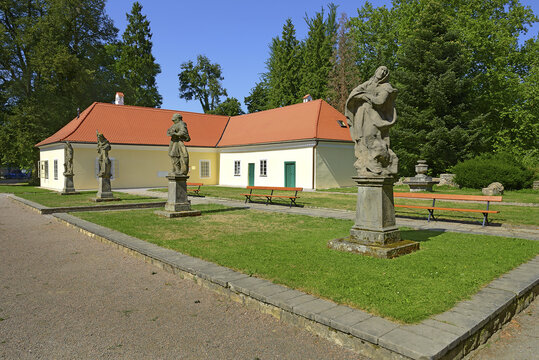 Choltice - chateau complex, located in the district of Pardubice, Czech Republic