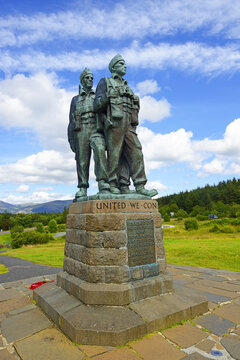 The Commando Memorial - This area is dedicated to the memory of all Comandos who gave their lives in the service of his country during the 1939-1945 War. Fort William, Scotland