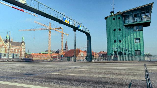 Langebro bridge, Copenhagen denmark