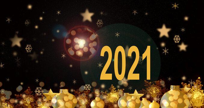 2021 , carte de voeux