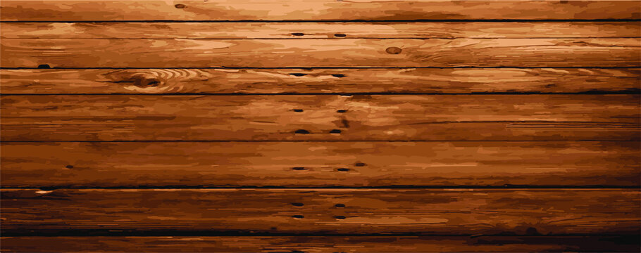 wood plank texture vector for background